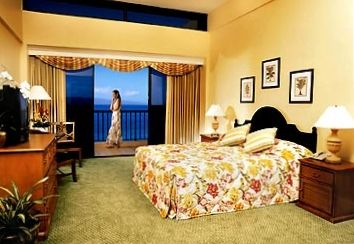 MAUI OCEAN CLUB SUITE - Master Bedroom with King Bed