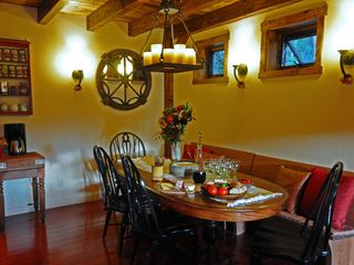 Taos Ski Valley house photo - Dining area: room for the family