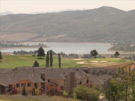 View of Pineview Lake and Golf Course next to the Moose Hollow Condo's.