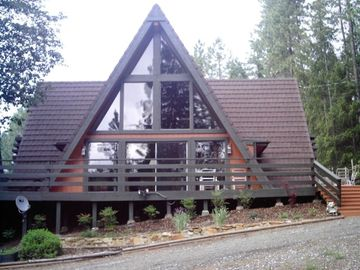 Pollock Pines cabin rental - View of Chalet in Sierra Springs Neighborhood