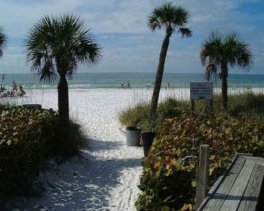 Siesta Dunes has private access to America's best beach.