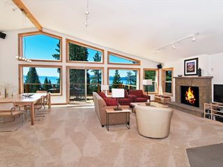 Tahoe City house photo - The Great Room and deck