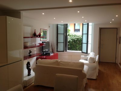 Beautiful loft on two levels with private garden equipped with every comfort