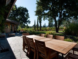 Sonoma house photo - Outdoor dining for 8 or more