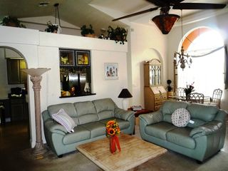 North Naples villa photo - luxury living area