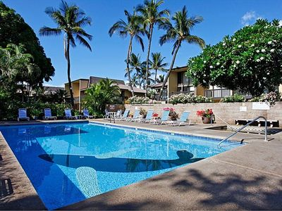 Picture yourself relaxing poolside at Kihei Garden Estates