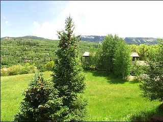 Snowmass Village house photo - Private hot tub with outstanding views
