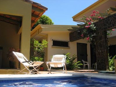 Villa Cabomar's patio offers a private place to relax and renew