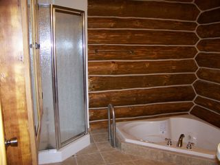 Galena cabin photo - Sunken whirlpool for two