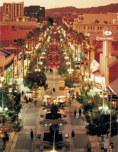 Shopping at nearby 3rd street promenade.