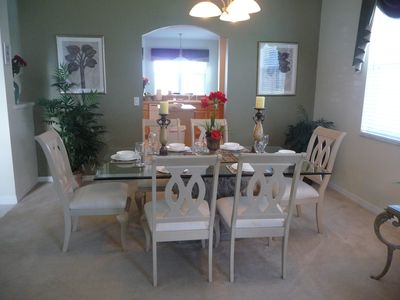 Highlands Reserve villa rental - Formal dining