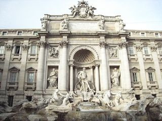 Trastevere area condo photo - Everyone will ask if you went to Trevi Fountain. Make sure you throw three coins