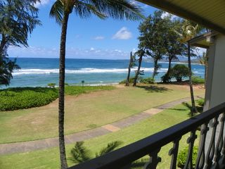 Kapaa condo photo - View looking right from balcony.