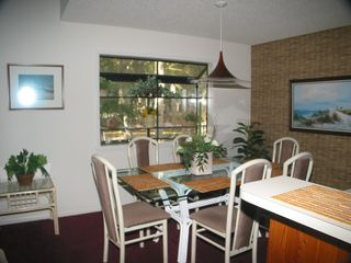Sunset Beach townhome photo - Dining