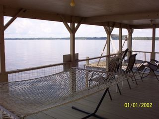 Santa Fe Lake house photo - sit down and enjoy