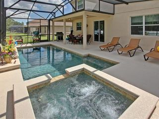 Crystal Cove villa photo - Private heated pool and hot tub