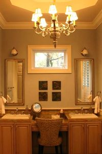 Dressing Area of Master Suite