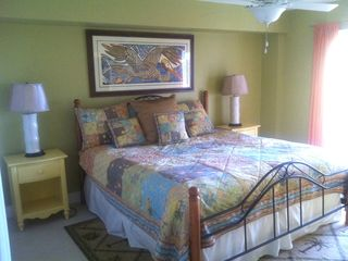 Pensacola Beach house photo - guest bedroom downstairs water view