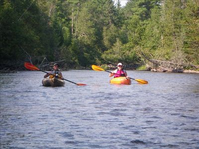 Kayaking the Mason Wilderness Tract. Rentals, shuttle, available in Roscommon.