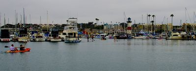 Oceanside harbor has so many things you can do, kayak, paddleboard, shop and eat