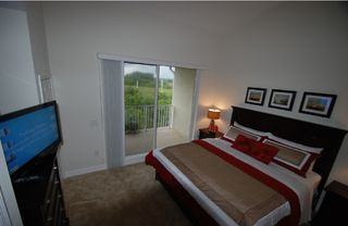 Tampa townhome photo - Master bedroom , King bed, Lcd-Tv, Balcony with a stunning view of Tampa Bay