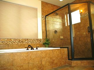 Snowbasin house photo - Eagles Nest shower & tub for 2 with a view