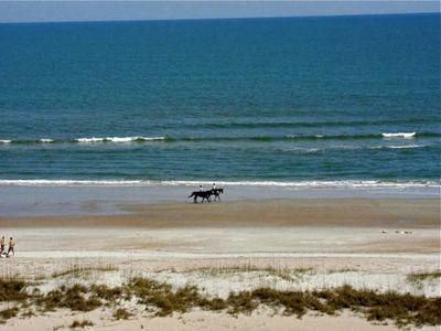 Perhaps a guided horseback ride on the beach will be part of your vacation plan?