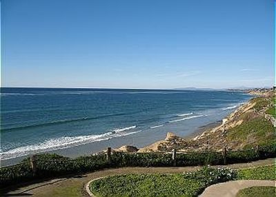 Solana Beach condo rental - View from the bluff of Seascape Sur where my home is located