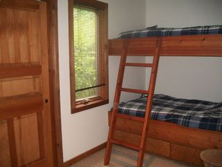 Bunk room #1--- Two bunk rooms with 8 beds in all.