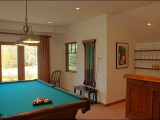 Ketchum house photo - Private Billiards Room