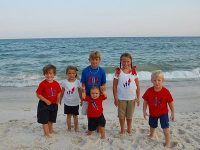 Our six Grandchildren