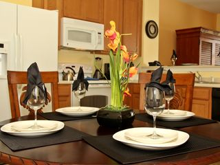 Paradise Cay townhome photo - dinning table