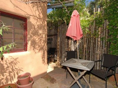 Side Yard Area, Fenced and Private. Gas Grill Around the Corner