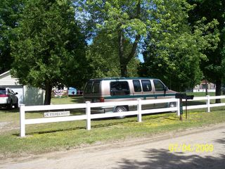 Port Sanilac cottage photo - The view from road side