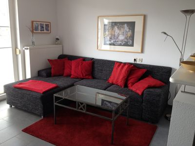 Modern, sunny and spacious apartment. Swimming pool, sauna, spa on site