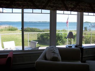 View from living room - Pocasset house vacation rental photo