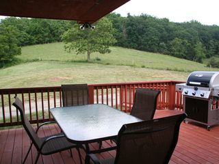 Luray cabin photo - Back deck