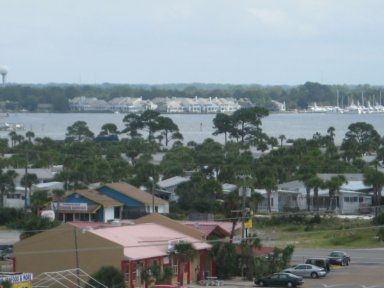 601. View from back of condo toward St. Andrews Bay
