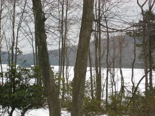 Big Boulder house photo - Lake in winter