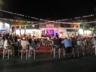 Grand Bahama Island cottage photo - Nightlife in town at Port Lucaya which is driving distance from Eden Cottage