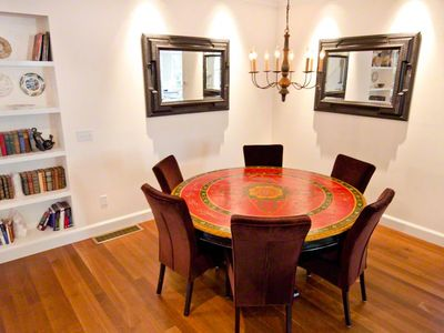 Dining Area Has Ample Seating For Entertaining