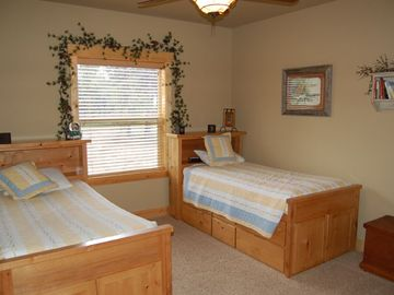 One of two lower level bedrooms!