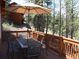 Montgomery Estates house photo - Huge deck and patio set for relaxing