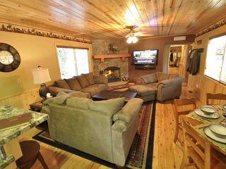 Moonridge cabin photo - Living Room