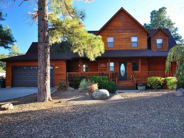 Williams cabin rental - Beautiful cedar cabin with 3 wrap around porches to enjoy