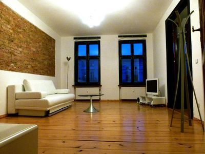 Pankow (Prenzlauer Berg, Weißensee) apartment rental - LB2: bright living room, eclectic interiors