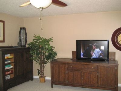 High Definition Television in Living Room