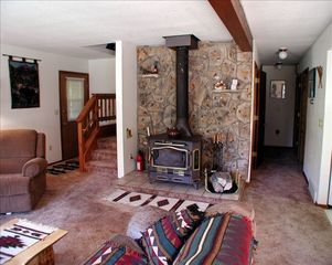 Grand Lake house photo - .Wood burning stove keeps it toasty warm