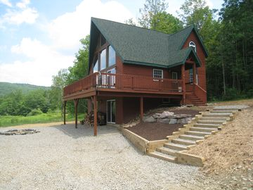 Ellicottville chalet rental - A relaxing summer retreat...