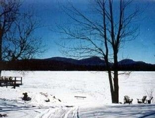 Indian Lake cottage photo - Snowmobile trail to Speculator & Village Trails